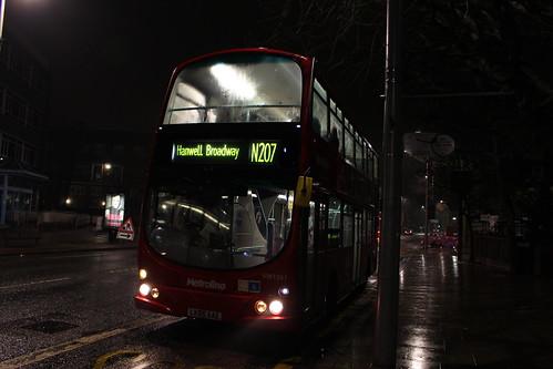 N207 to Hanwell Broadway
