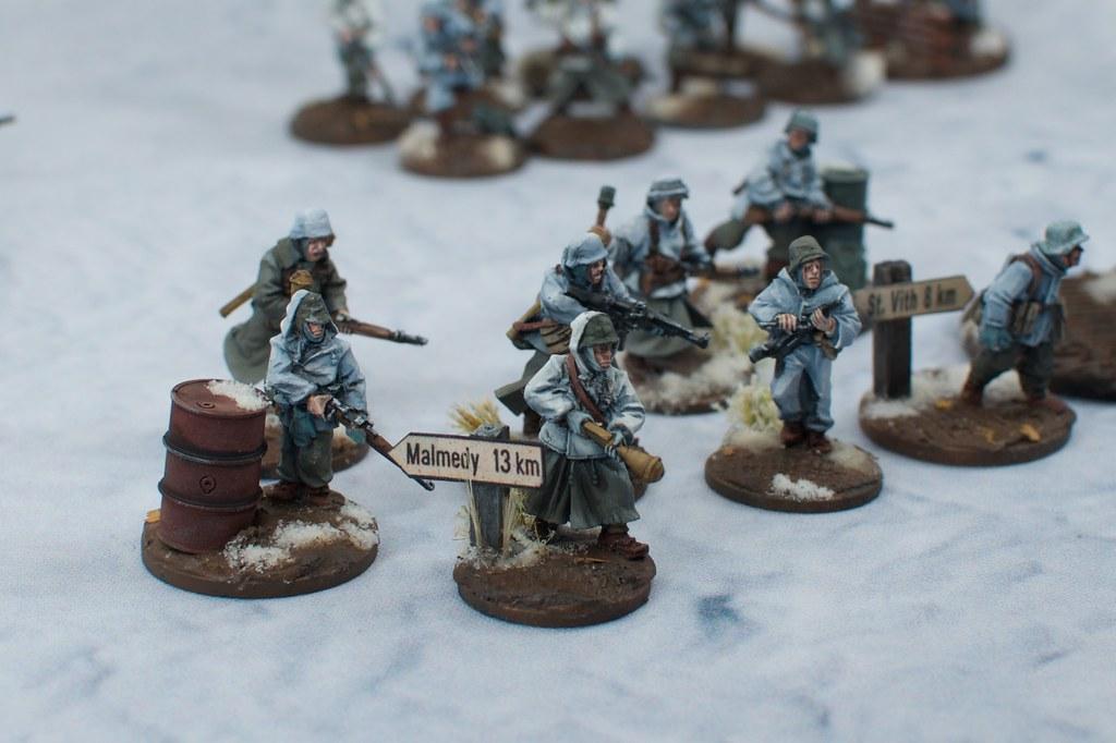 Grenadiers, basing