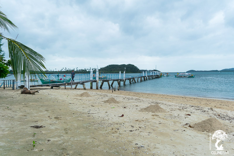 Arriving at Punta Verde white beach