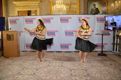 Cultural performers from the Pacific region | by Commonwealth Secretariat