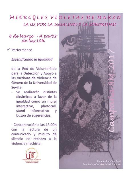 miércoles violetas 8 de marzo