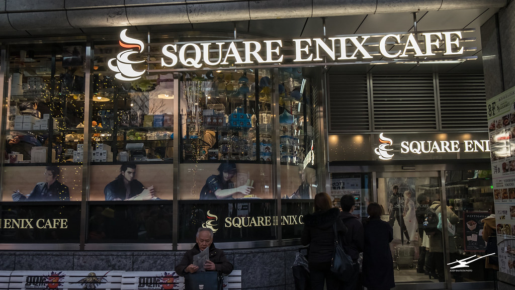 Square-Enix Cafe Akihabara