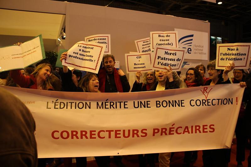 Les lecteurs correcteurs au Salon du Livre de Paris