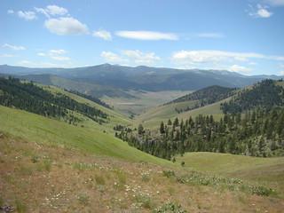 013 Uitzicht Bitterroot trail