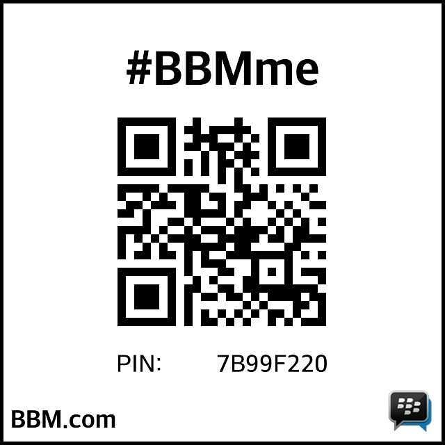 Add me on bbm