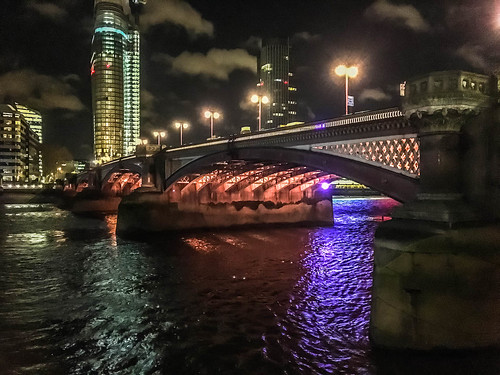 Night Time Stroll Along the Thames