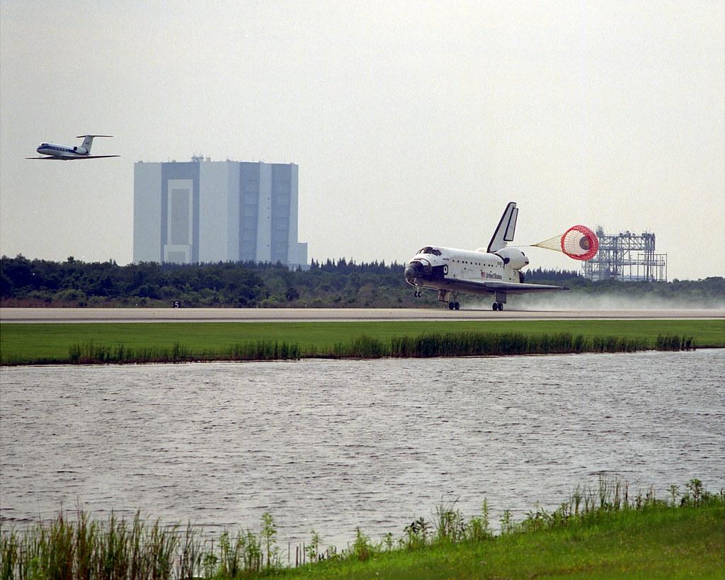 Image result for sts-84 landing