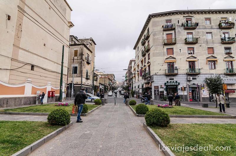 visita a Herculano ciudad actual