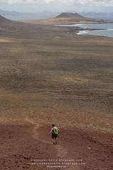 Montaña Roja (La Graciosa, Islas Canarias)