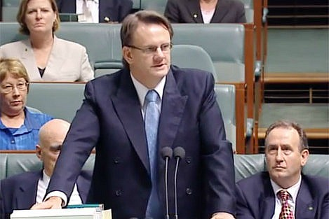 Mark Latham as Labor leader