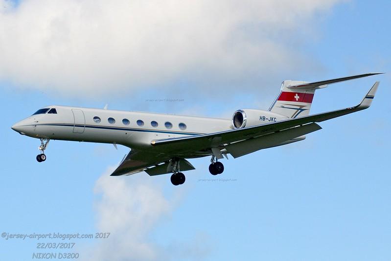 HB-JKC Gulfstream G550