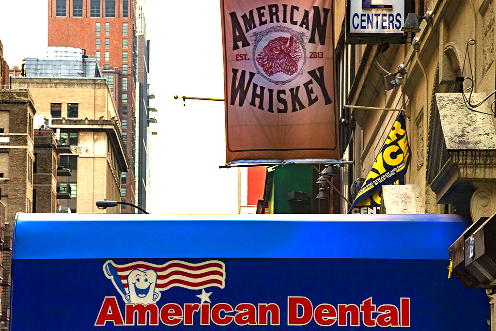 AMERICAN WHISKEY AMERICAN DENTAL--New York