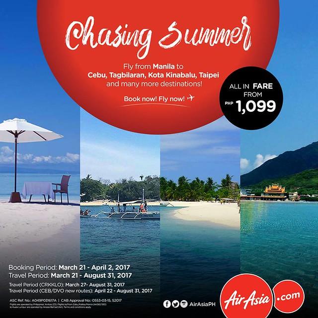 AirAsia Chasing Summer Promo