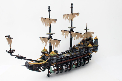 Lego Pirates Of The Caribbean Ship Instructions