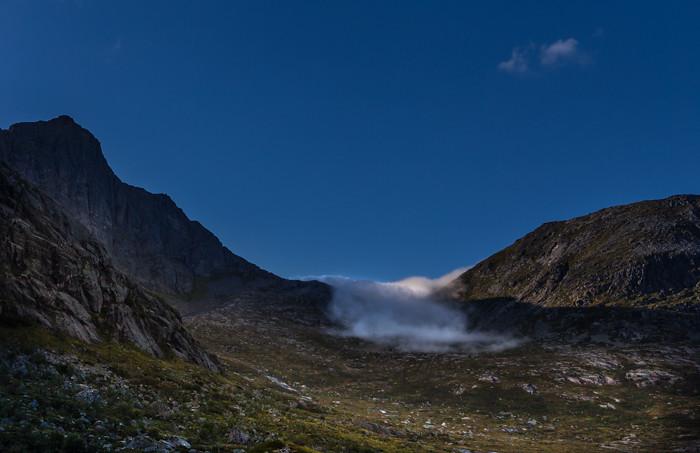 ranta Lofootit Lofoten Norja Norway Norge vuoret pilvi_