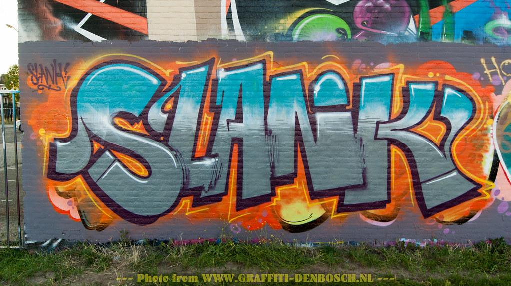 Slank By Www Graffiti Denbosch Nl