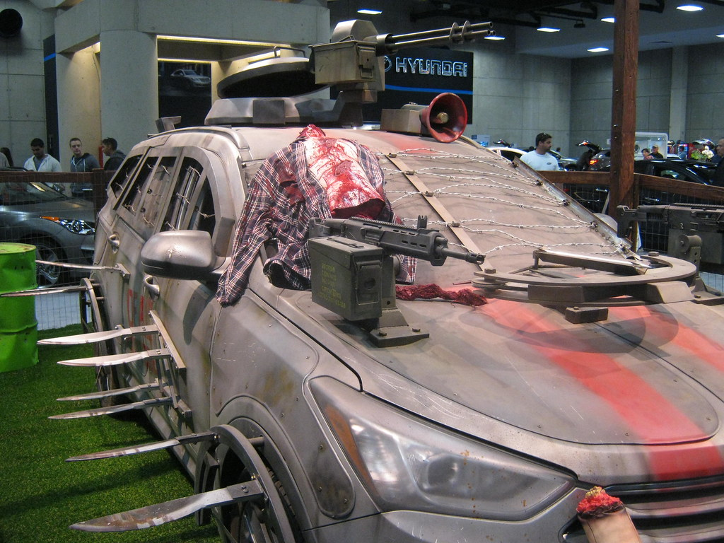 Zombie Warrior Car SD Auto Show Bob Perry Flickr - Sd car show
