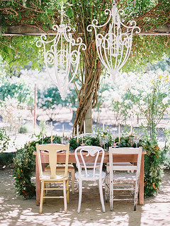 Dinner Table for the Notebook Inspired Photo Shoot | by Sweet Lauren Cakes