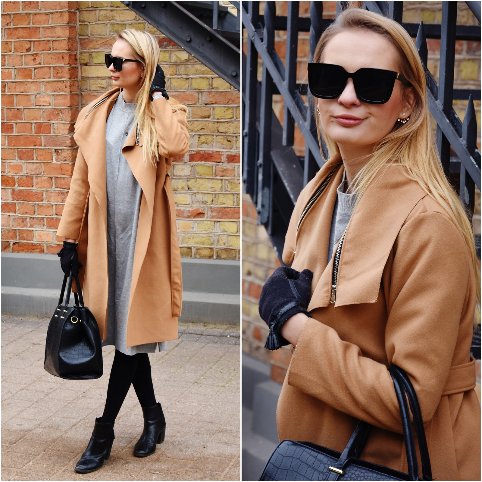 How to style a camel coat
