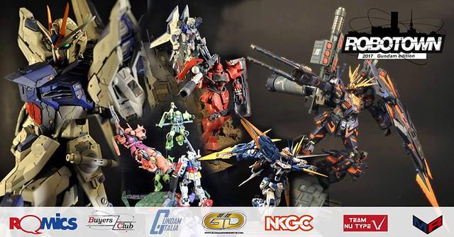 Romics Robotown – Gundam Edition 2017