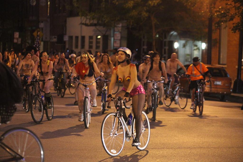 chicago ride naked World bike