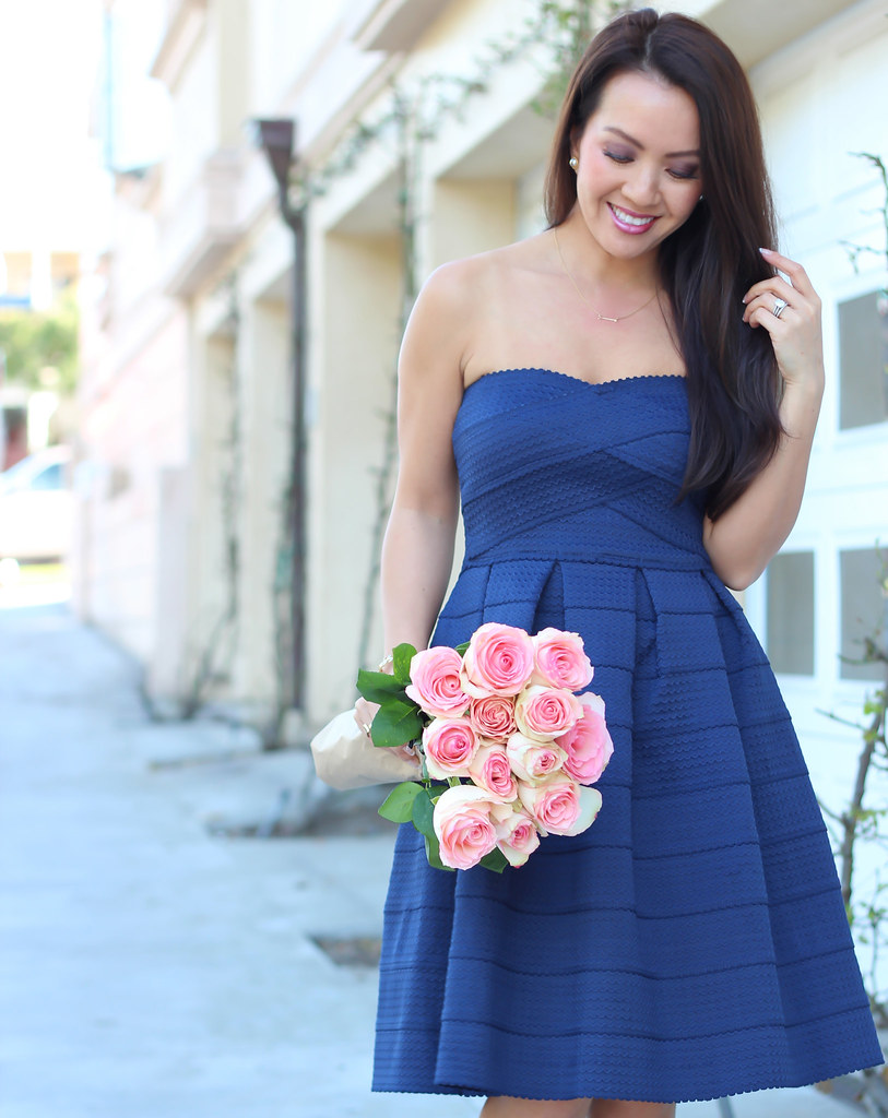 Gabriella rocha lorene navy dress 2 stylish petite flickr