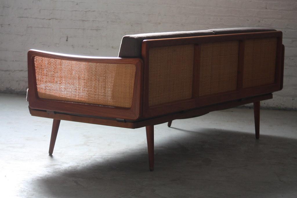 ... 1960s Satisfying Danish Mid Century Modern Teak Peter Hvidt Sofa For John  Stuart (Denmark, 1960s