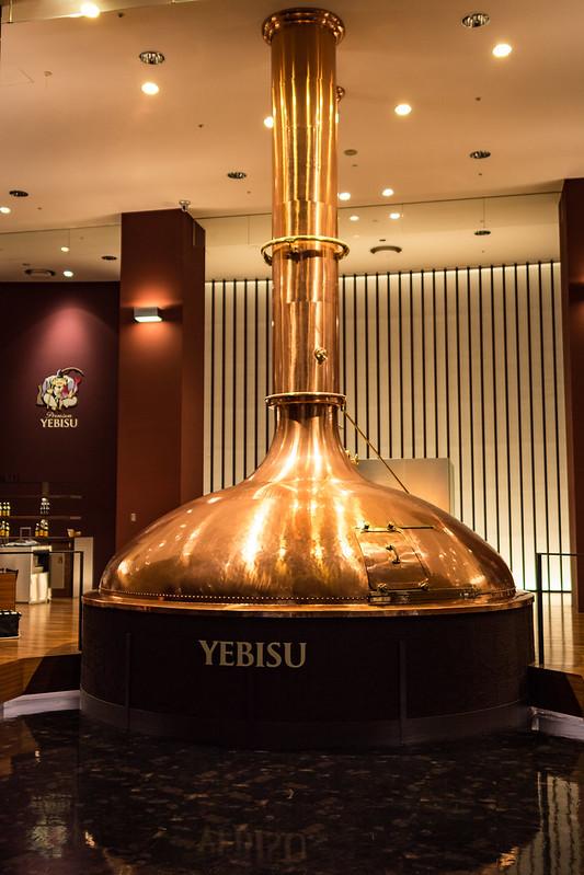 ヱビスビール記念館のビール醸造釜