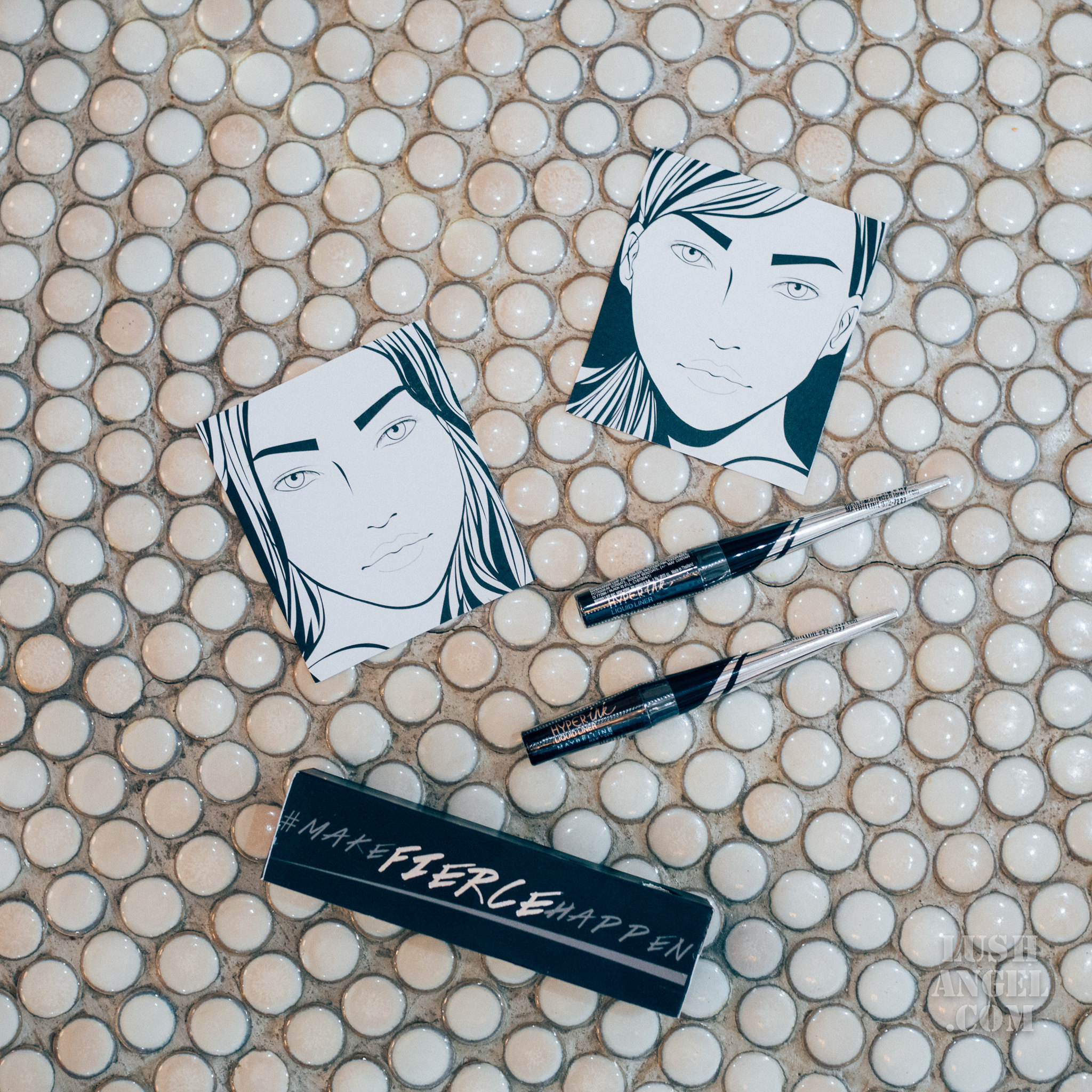 Maybelline Hyperink Liquid Liner Review Lush Angel Hyper Sharp Wing Eyeliner
