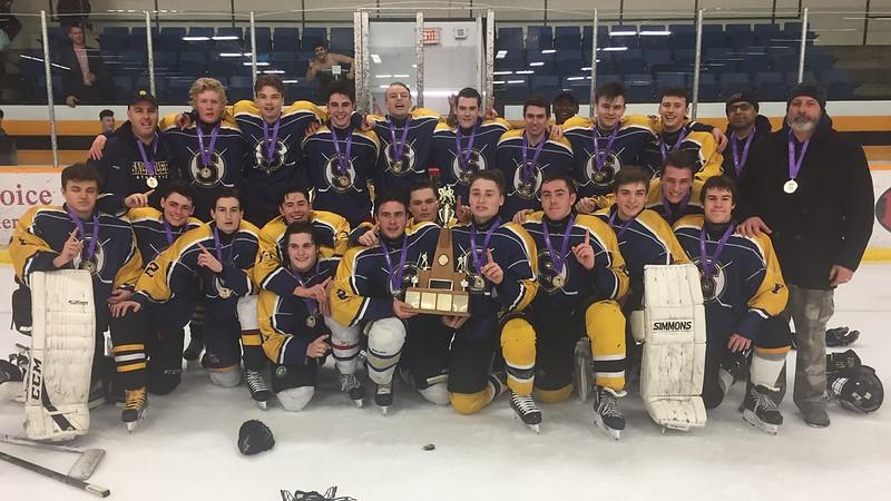 2016-17 Boys Division-I Hockey Champions: Saltfleet Storm
