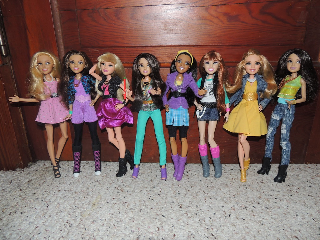 Disney VIP Dolls - Top Characters From Disney Channel TV Shows ...
