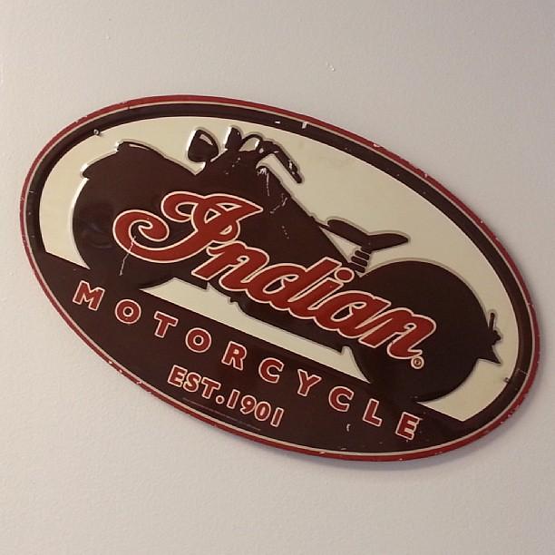 Indian Motorcycle Sign Brian Hawkins Flickr