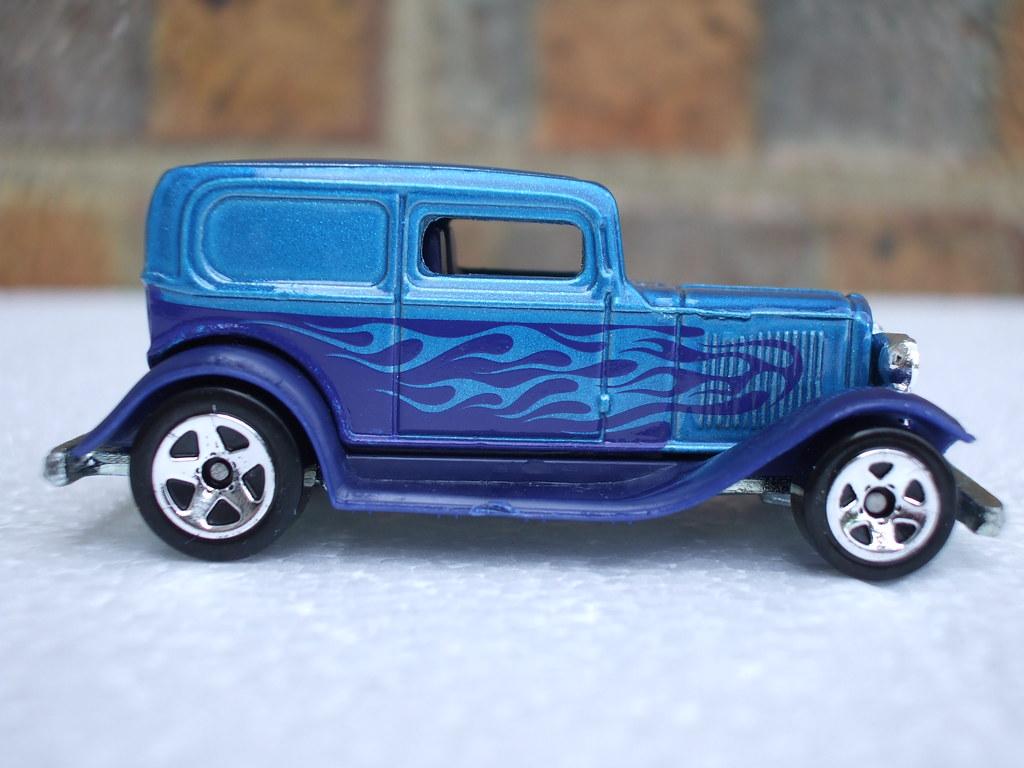 Hot Wheels 34 Ford Sedan Delivery Hot Rod Van Metallic Blu… | Flickr