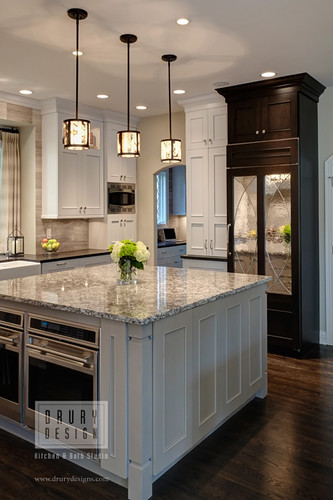 Transitional kitchen glen ellyn kitchen design and for Kitchen design 65 infanteria