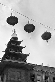 Chinatown Pagoda and Lanterns | by shaire productions