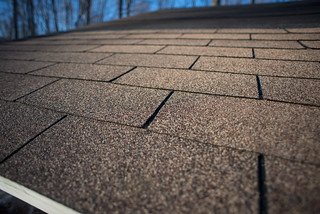 Shingles on Solar Shed Roof | by goingslowly