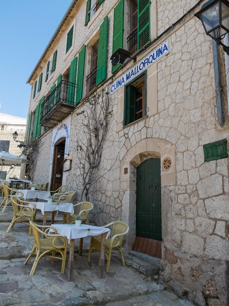 Restaurant in Banyalbufar, Mallorca