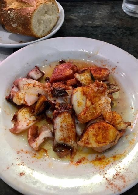 Octopus dinner at Mercat de La Concepció. An Unusual Way to Explore Barcelona
