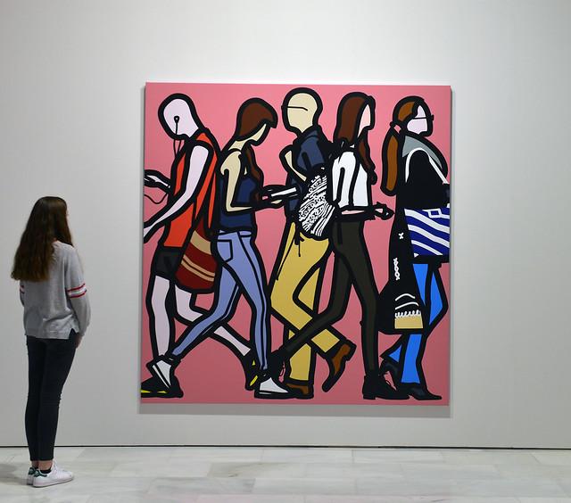 """Exposición """"Julian Opie"""""""