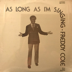 FREDDY COLE:AS LONG AS I'M SINGING(JACKET A)