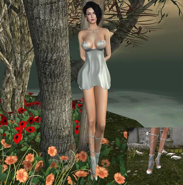 .TBO. Sabrina dress+Wicca's Wardrobe - Wilma Heels (fatpack)