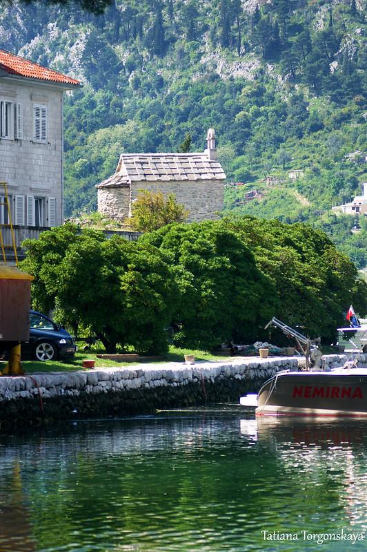 Вид на церковь Св. Ильи