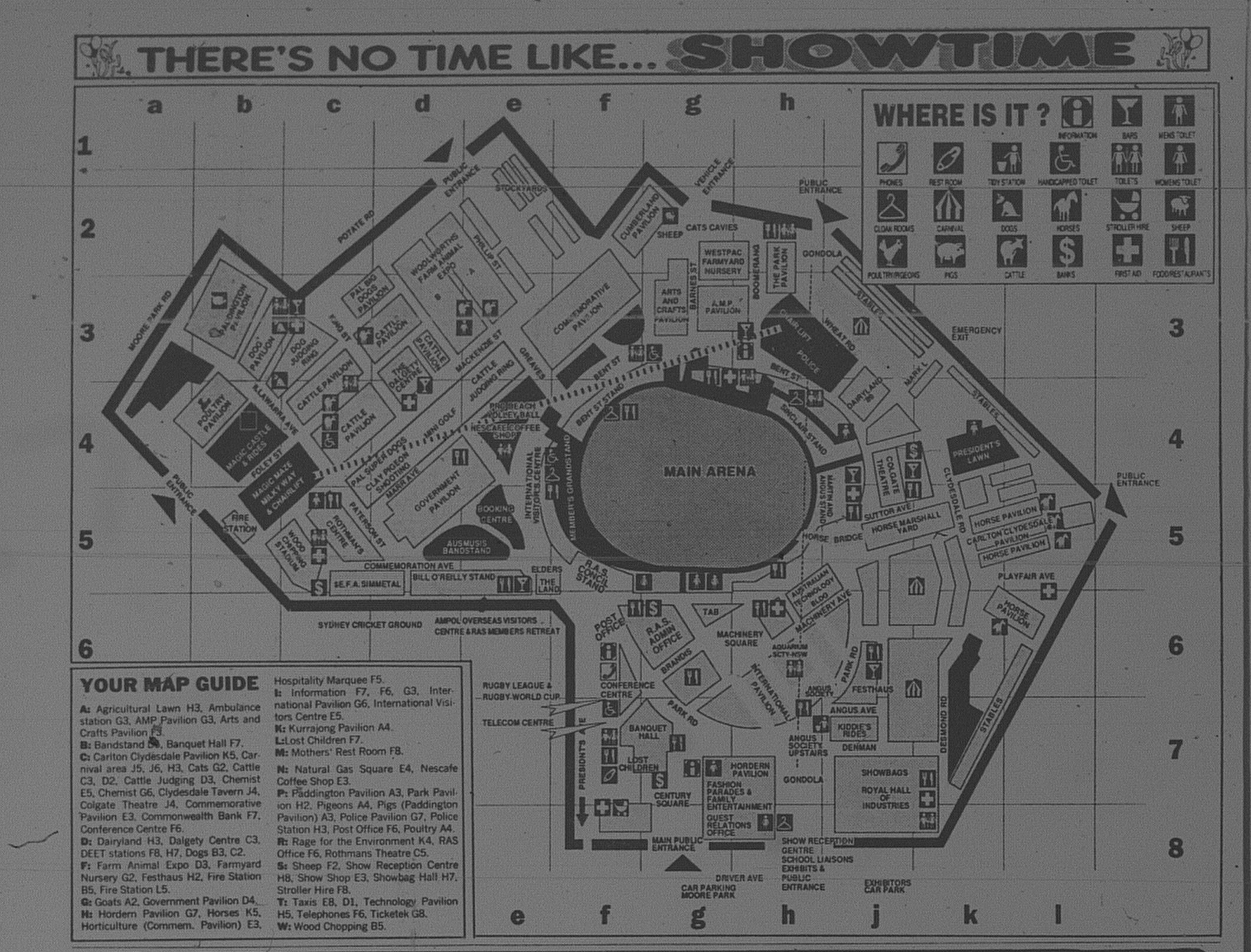 Easter Show Preview April 8 1992 daily telegraph (3) - Easter Show Map - Page 48