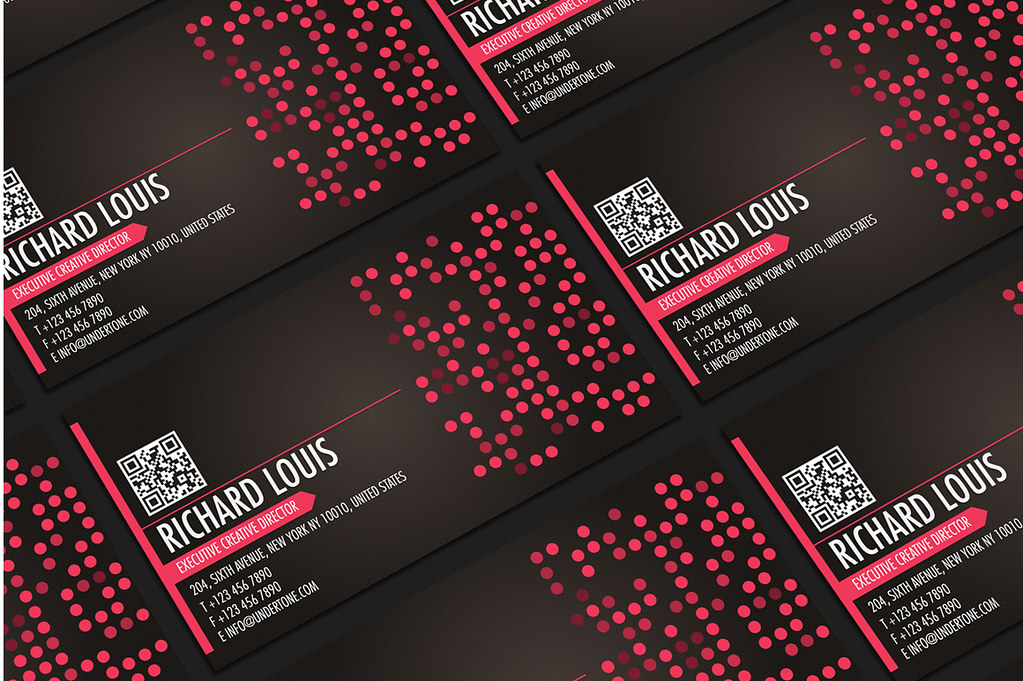 Hot pink business card design hot pink business card desig flickr hot pink business card design by lemongraphic colourmoves