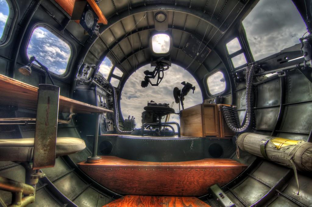 ... B 17 Flying Fortress Interior | By Cosmosjon