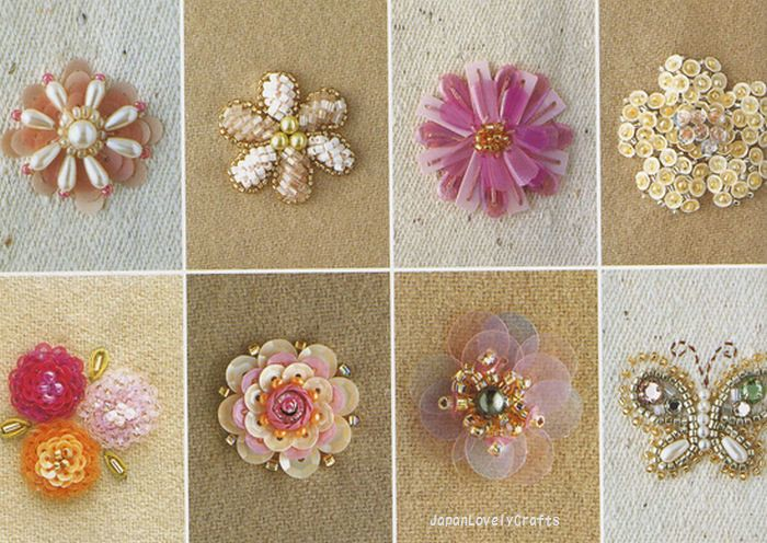 Haute Couture Beads Motif 100 Japanese Bead Embroidery S Flickr