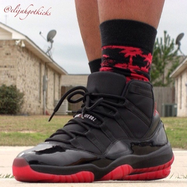 61a1544a7695 ... discount code for dirty bred air jordan 11 custom worn by  elijahgotkicks sneakerfiles sneakerfiles cee49 f1f54