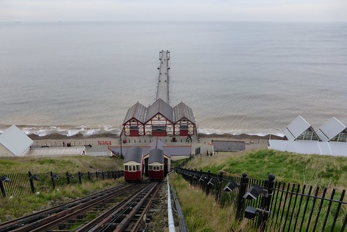 Saltburn Cliff Lift and Pier | by yellow book