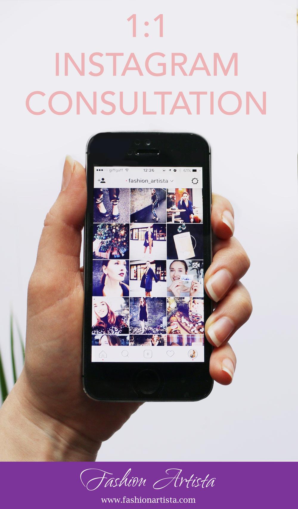 1:1 Instagram Consultation
