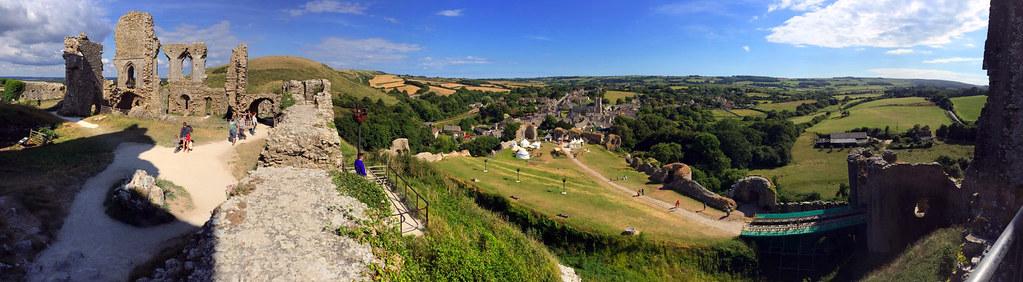 """Castillo de Corfe - La Bruja Novata - Inglaterra castillo de corfe - 32823878396 a4c2f91683 b - Escenarios de """"La Bruja Novata"""" – Castillo de Corfe"""